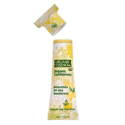"""Органический дезодорант """"Лимонное чайное дерево и мята"""" Organic Essence 62 г"""