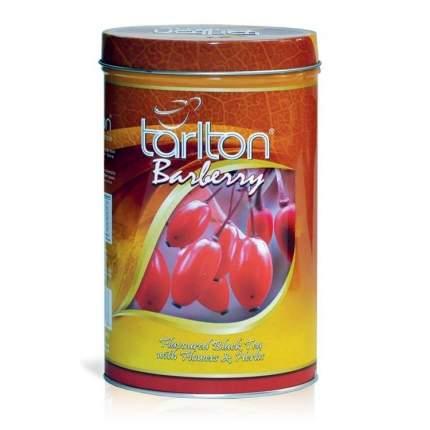 Черный чай Тарлтон барарис 100 г