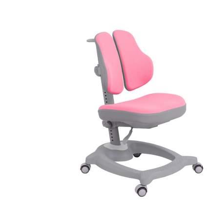 Ортопедическое детское кресло Fundesk Diverso цвет обивки: розовый, цвет каркаса: серый