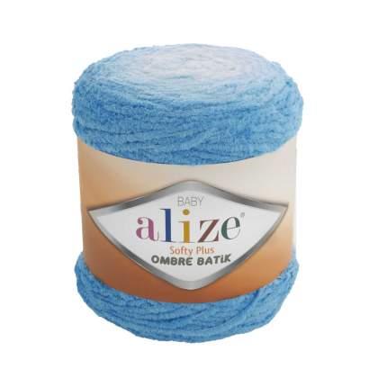 "Пряжа Alize ""Softy Plus Ombre Batik"", 600 метров, 500 грамм, цвет: 7281 бирюза"