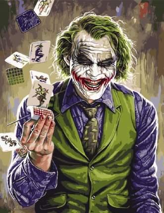 Картины по Номерам на Холсте 40х50 Персонажи - Джокер