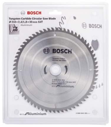 Пильный диск BOSCH 2608644391, по алюминию, 210мм, 30мм