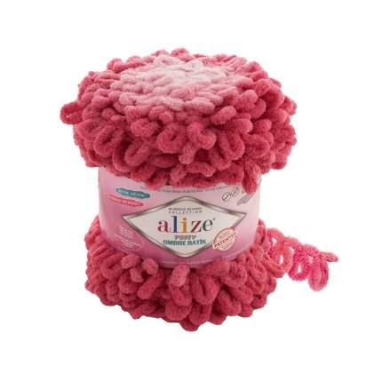 """Пряжа Alize """"Puffy Ombre Batik"""", 55 метров,  600 грамм, цвет: 7418 розовый"""