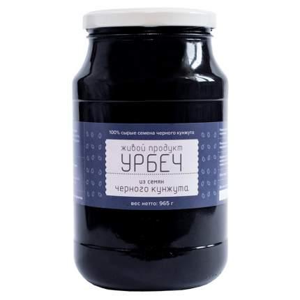 Урбеч из семян чёрного кунжута Живой продукт 965 г
