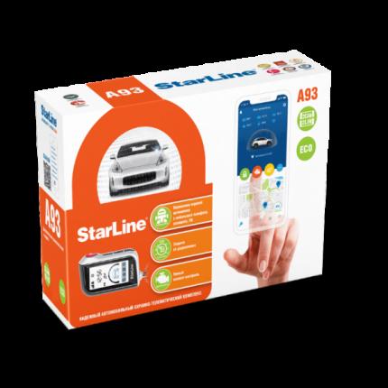 Автосигнализация Starline A93 2CAN+2LIN ECO