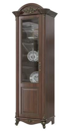 Шкаф Мэри-Мебель Да Винчи ГД-01 орех, 67х52х230 см