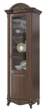 Шкаф Мэри-Мебель Да Винчи ГД-02 орех, 67х52х230 см