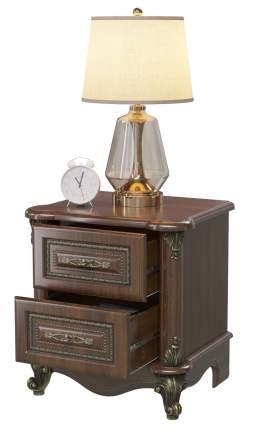 Тумба прикроватная Мэри-Мебель Да Винчи орех СД-03, 56х45х59 см.