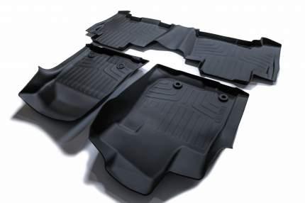 Коврики резиновые в салон SRTK 3d lux для Toyota Prado 150 (2013-) 3d.ty.lc.pr.09g.08002