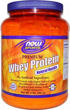 Now Whey Protein 4,54 кг (вкус: шоколад)
