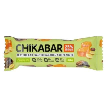 Chikalab Chocolate Protein Bar 60 г (вкус: арахис) Протеиновые батончики в шоколаде
