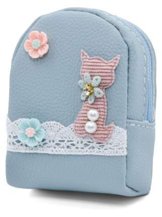 Кошелек детский Кошка  CoolToys KDL04-5 голубой