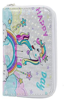Кошелек детский Super Единорог CoolToys KDL05-5 белый