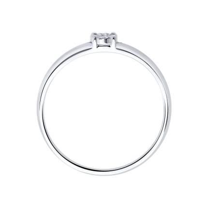 Помолвочное кольцо женское SOKOLOV из серебра с бриллиантом 87010018 р.19