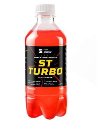 Напиток с l-карнитином НПО СТ Turbo Drive, 330 мл, вишня