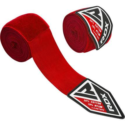 RDX Бинт боксерский HWX-RR RED, 4,5 м