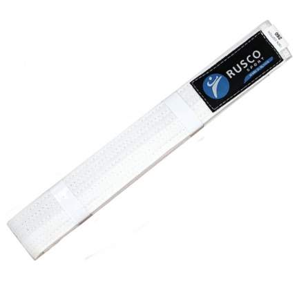 Rusco Пояс для единоборств, 240 см, белый