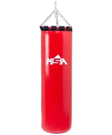 KSA Мешок боксерский PB-01, 120 см, 55 кг, тент, красный