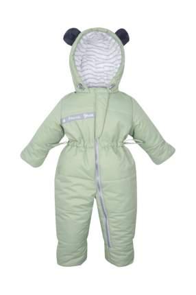 Комбинезон детский Zukka, цв. зеленый, р-р 74