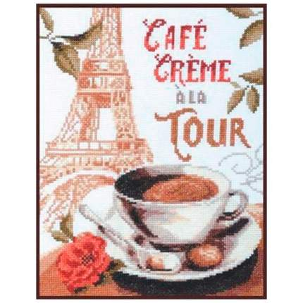 Набор для вышивания Палитра Кофе со сливками