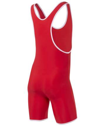 BASEFIT Трико борцовское 9917, 30-42, красный - 40