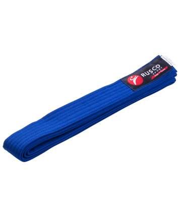 Rusco Пояс для единоборств, 240 см, синий