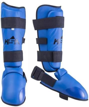 Защита голени и стопы KSA Force, синяя, M