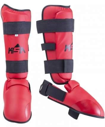 Защита голени и стопы KSA Force, красная, S