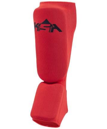 Защита голени и стопы KSA Rock, красная, S