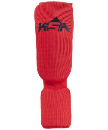 KSA Защита голень-стопа Rock Red, детский - XS