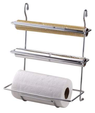 Держатель для бумажных полотенец MG032 для рейлинга 19х30х38 хром
