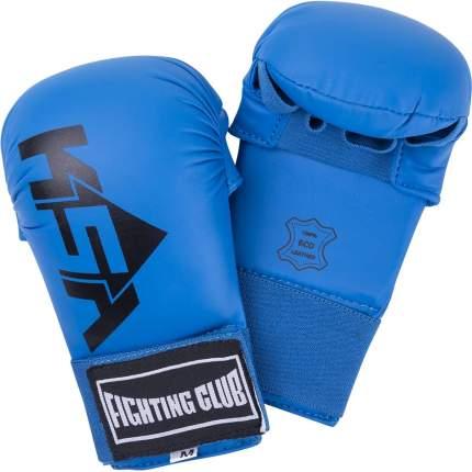 KSA Накладки для карате Slam Blue, к/з, детский - S