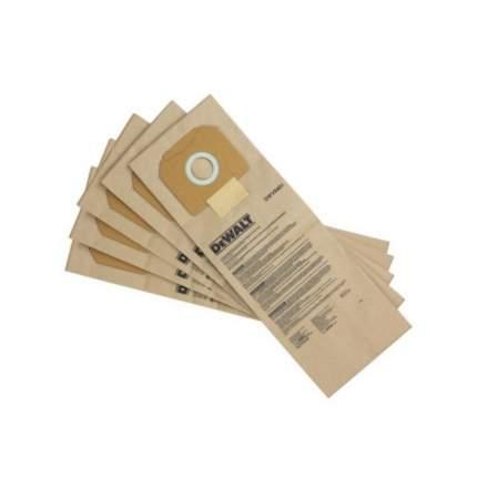 Пылесборник DeWalt DWV9401-XJ бумажный для пылесосов DWV900. DWV901, DWV902 5шт