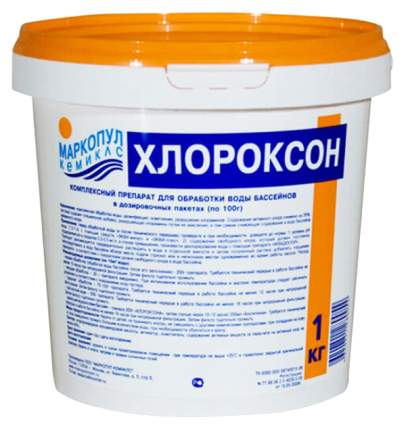 Дезинфицирующее средство для бассейна Хлороксон 76504 1 кг