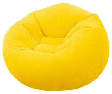 Надувное кресло Intex 68569-желт beanless bag chair 107 х 104 х 69 см
