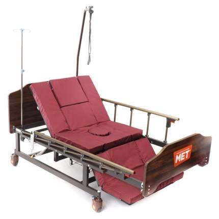 Кровать функциональная медицинская электрическая с переворотом с туалетом MET EVA lite