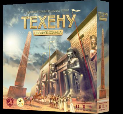 Настольная игра Crowd Games Техену. Обелиск Солнца