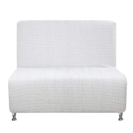 Чехол на кресло Акари гран Светло-серый без подлокотников