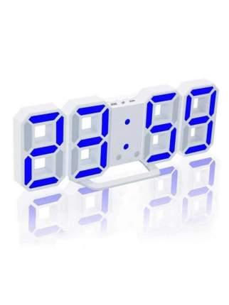 Настенные домашние LED часы 3D, белые