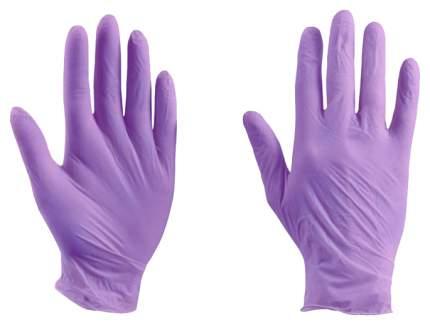Перчатки SFM Supersoft нитриловые смотровые н/с н/о размер XS фиолетово-голубые 200 шт.