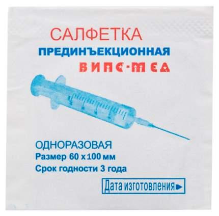 Салфетка спиртовая антисептическая для инъекций 60х1000 мм стерил. ВИПС-МЕД 100 шт.