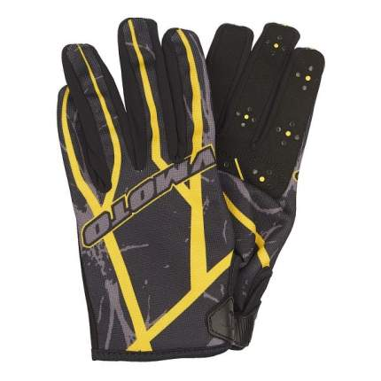 Мотоперчатки Vmoto 1265 Black/Yellow, M
