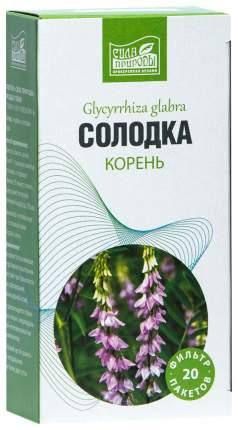 Солодка корень пакеты 20 шт. Напитки Сила природы
