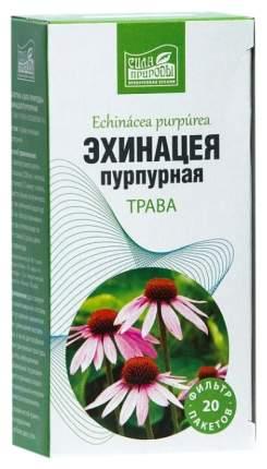 Эхинацея трава пакеты 20 шт. Напитки Сила природы
