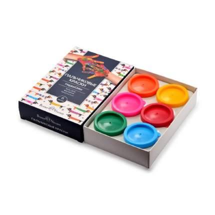 Краски пальчиковые BrunoVisconti 6 цветов