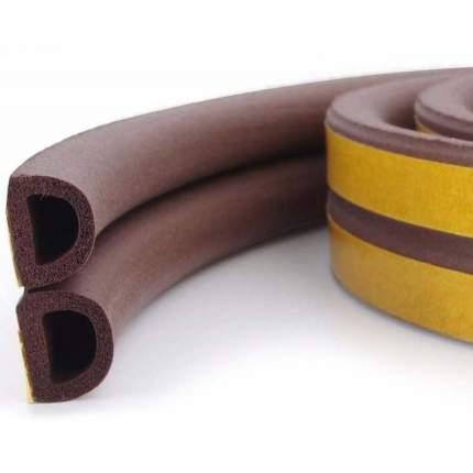 Уплотнитель для окон и дверей Isotape D10, коричневый