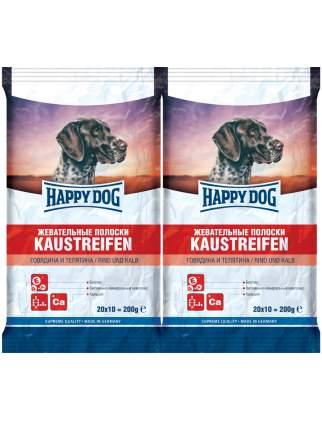 Лакомство для собак Happy Dog , палочки, говядина, телятина, 200г, 2 шт