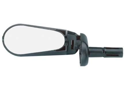 Велосипедное зеркало TBS dx-2280s, длина 7см, складное, крепится в руль