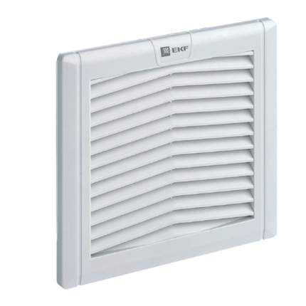 Вентиляционная решётка с фильтром 176x176 мм IP54 EKF PROxima