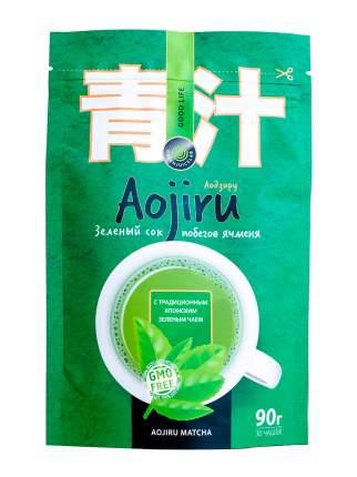 Аодзиру / витаминный напиток со вкусом  чая Матча / Аодзиру Матча
